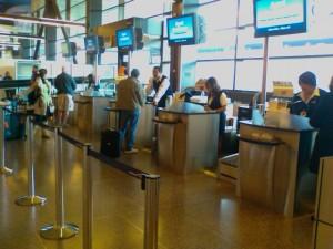 Departures Service Area